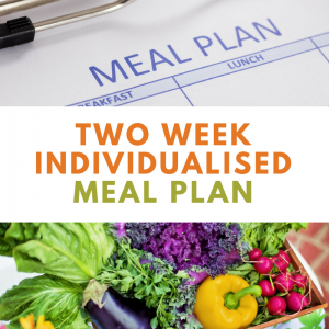 2 Week Individualised Meal Plan | Wellness Path
