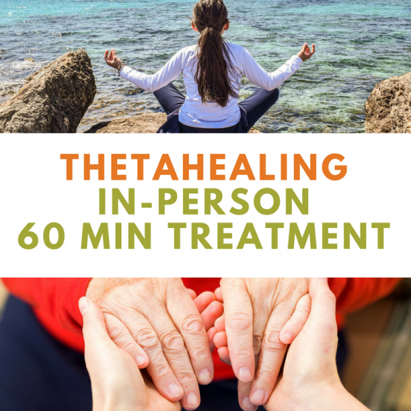 ThetaHealing In-Person 60min Treatment