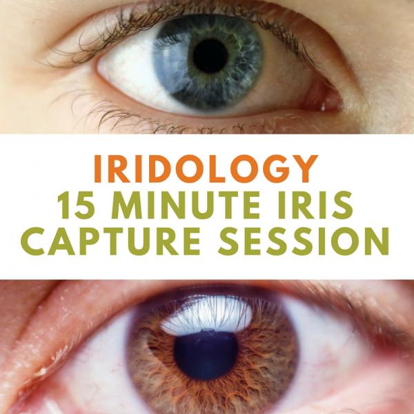 Iridology Iris Capture Session | Wellness Path