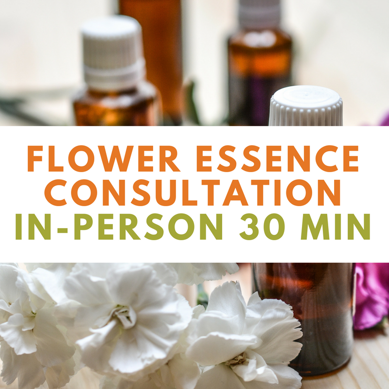 Flower Essence Consult - In-Person 30 Min